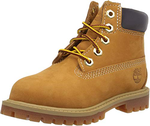 SV – Timberland Premium-Stiefel Junior, 6 Zoll, Original Classic – Weizen, Größe 37 (UK-Größe: 4,5)