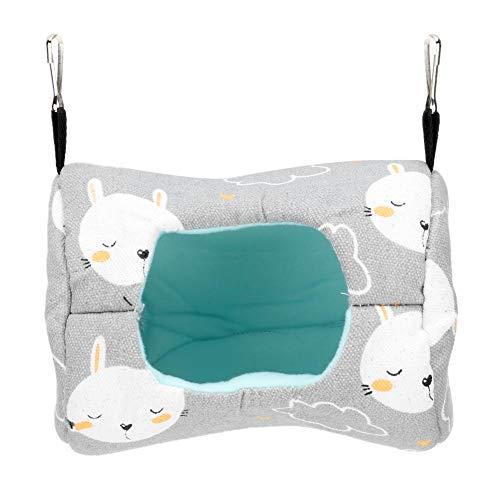 Zerodis Hamster Hammock Sugar Glider Bed Plush Small Pet Sleeping Bed Nest for Dwarf Hamster Gerbil Hedgehog Guinea Pigs Mini Mice Rat(#1)