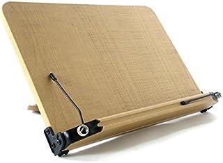 日本市場で強力 ブックスタンド13段階調整(337mm x 240mm)書見台ライティングテーブルリーディングテーブル..