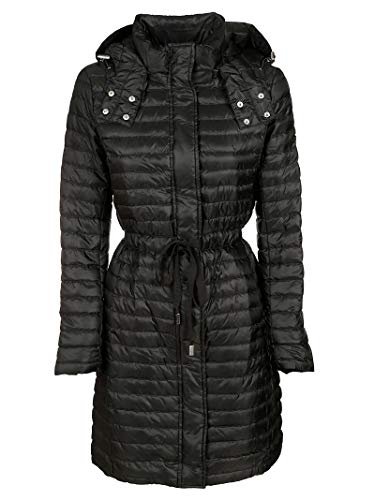Michael Kors Luxury Fashion Damen MF92HKZ7T3001 Schwarz Polyamid Mantel | Herbst Winter 19