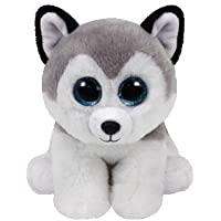 TY - Beanie Babies Buff, peluche husky, 15 cm (United Labels Ibérica 42183TY) , Modelos/colores Surtidos, 1 Unidad
