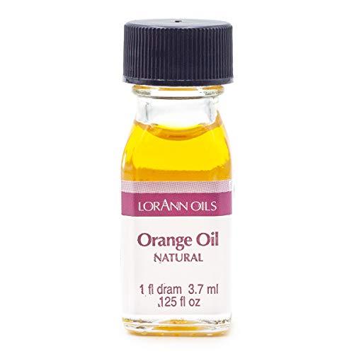 LorAnn Orange Oil Super Strength Natural Flavor, 1 dram bottle (.0125 fl oz - 3.7ml)