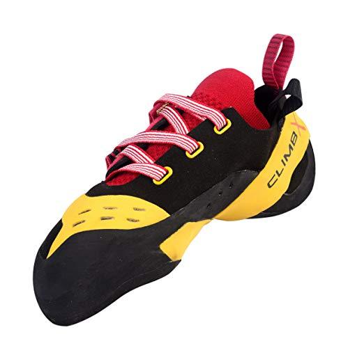 Climb X Apex Climbing Shoe (2019) (11) Yellow