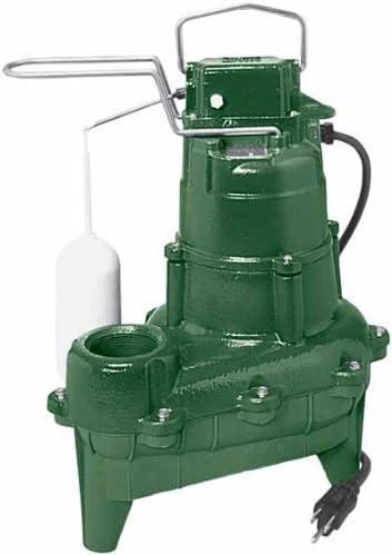 popular Zoeller high quality M264 Waste-Mate Sewage Pump, outlet online sale 4/10th Horsepower, 115V outlet sale