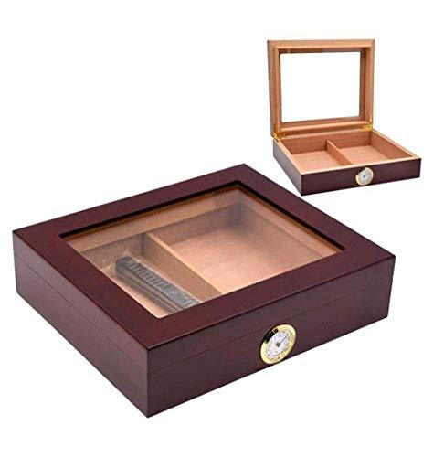 ZXL sigaar doos, vochtige sigaar dozen, sigaar luchtkussens, cederhout vochtige verf doos Piano sigaret case hoge slaapkamer raam
