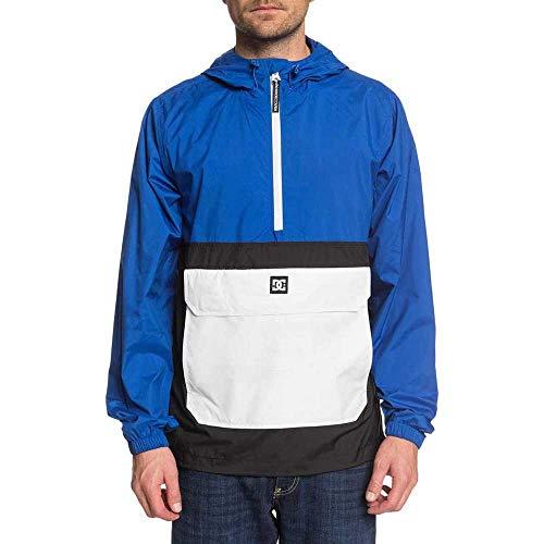 DC Shoes Herren Sedgefield Packable - Wasserabweisender, klein verpackbarer Anorak mit Kapuze und Halbreißverschluss für Männer Jackets, nautical blue, L