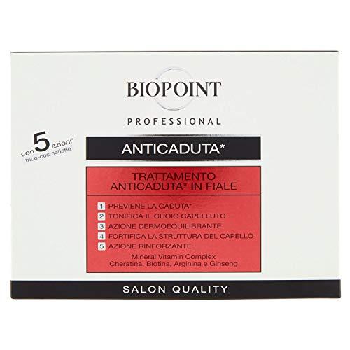Biopoint Tratamento Capeli Anticaduta in Fiale, 10 x 7ml