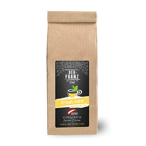 Der Franz, Tè alla menta piperita 'Fresh Mint' in foglie sfuse, 250 g