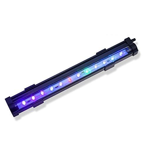 Luz De Tanque De Peces Led Luz De Acuario Colorida Control Remoto Cambio De Color Lámpara De Tanque De Peces De Buceo Luces De Tanque 25.5Cm