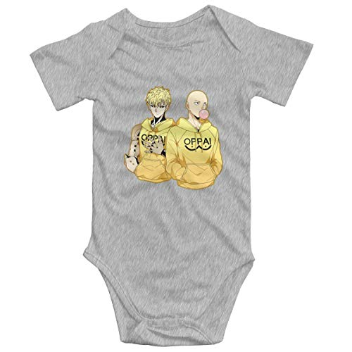 Yuanmeiju Funny Oppai Baby,Unisex Solid Multicolor Baby Monos 0-24 Months