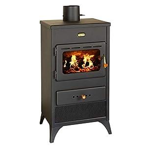 Estufa de leña 9 kW Potencia de calefacción Combustible Sólido Quemador de madera Modelo Prity K1E