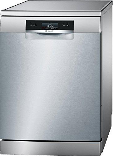 Bosch Serie 8 SMS88TI36E lavavajilla Independiente 13 cubiertos A+++-10% - Lavavajillas (Independiente, Tamaño completo (60 cm), Acero inoxidable, Negro, Acero inoxidable, TFT, 1,75 m)