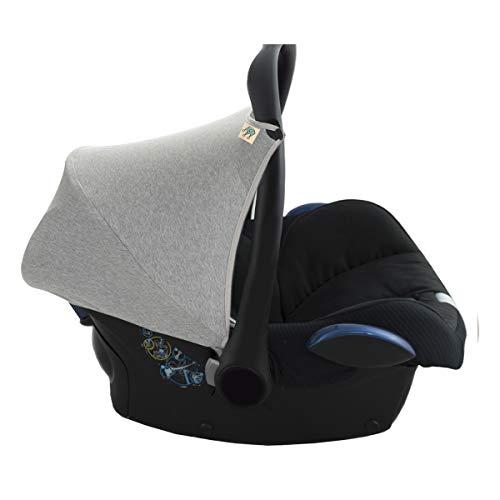 JANABEBE Capota compatible con Maxi Cosi Cabriofix (Stone Grey)