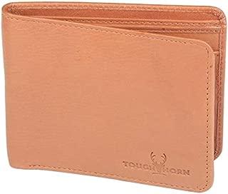 TOUGH HORN Men's Leather Wallet_THTAN00102