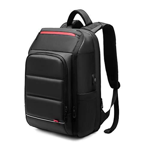 Eurcool Laptop Backpack for Men,Multifunction Business 15.6 inch Laptop Backpack,with USB Charging Port Travel Bag, Black-03, Large