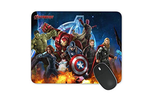 JNKPOAI All Kinds of Cartoon Mouse Pad Marvel Mouse Pad Series Anti-Slip Mouse Pad for Office Computer Game Mouse Pad The Avengers Mouse Pad (The Avengers)