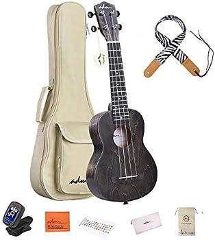 ADM Soprano Mahogany Ukulele Beginner Kit