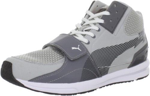 Puma Bolt Evospeed XT, A collo basso uomo, Gray/Violet/Steel Grey, US 9.5|UK 8.5|EU 42.5