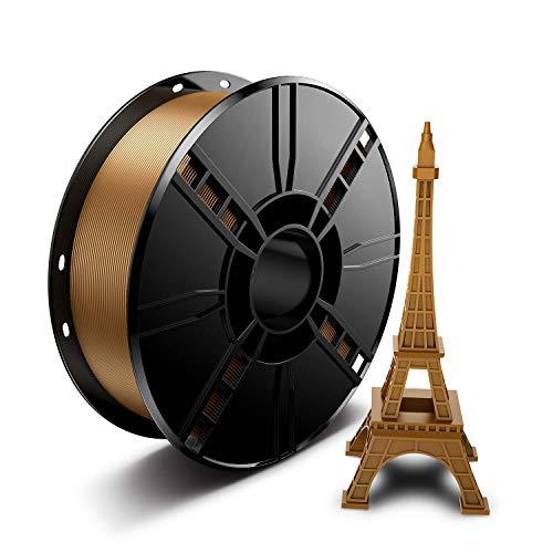 LABISTS PLA Filament 1.75mm, 3D Drucker Filament für 3D Printer, 1,75mm PLA Filament, 1kg Spule Golden