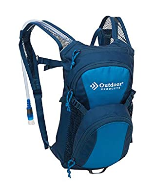 Outdoor Products Tadpole Hydration Day Pak, Bright Blue