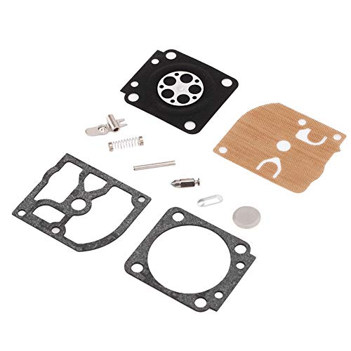 Akozon Guarnizione membrana carburatore carburatore Ripara il kit di ricostruzione Adatto per STIHL MS 180 170 MS180 MS170 018 017
