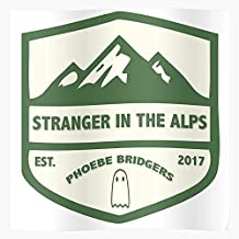 In Mountain Green Cream Phoebe The Alps Sad Music Indie Stranger Bridgers Regalo para la decoración del hogar Wall Art Print Poster 11.7 x 16.5 inch