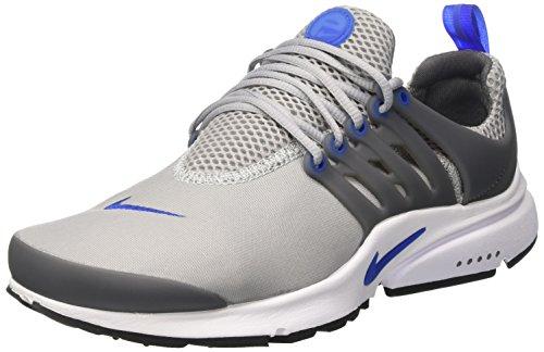 Nike Air Presto Essential, Entrenadores Hombre, Gris (Wolf Grey/Game Royal/Dark Grey/Black), 41 EU