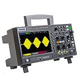 Wosontel Sonda + Hantek 2D10 100MHz 2D15 150MHz 1GSa/s 8M profundidad de memoria digital tipo banco osciloscopio 1CH generador de señal de forma de onda