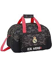 Safta Real Madrid reistas, 40 cm, 22 liter, zwart