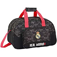 Safta Real Madrid Bolsa de Viaje, 40 cm, 22 litros, Negro