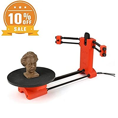 Ciclop Lasing 3D Scanner Kit RepRap 3D Open Source DIY BQ 3D Scanner with Printed Parts) for 3D Printer