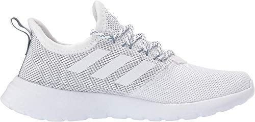 adidas Women#039s Lite Racer Reborn Running Shoe White/White/raw Grey 95 M US