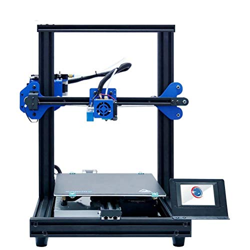 3D Printer 3D DIY Touch Screen Resume Printing Material Exhaustion Detection Compitable with PLA. ABS. HIPS. WOOD. PC. PVC 255 * 255 * 260mm Printing Size