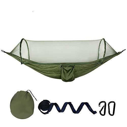 Hamac extérieur en Coton Multiples 270 * 140 cm, capacité de Charge jusqu'à 250 kg Portable avec Sac de Transport pour Jardin Patio