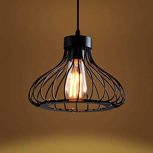 candelabro LQ Luz lámpara del Techo Colgante Retro rústico Industrial Light for Restaurante Bar...