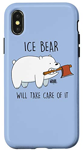 iPhone X/XS We Bare Bears Take Care of It Case