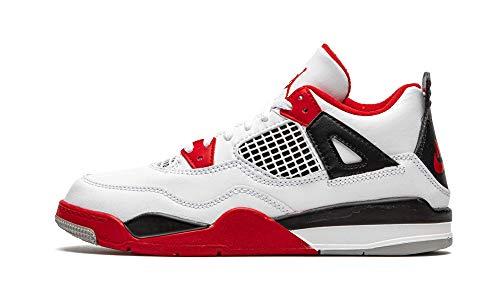 Jordan Youth 4 Retro (Ps) Fire Red 2020 Bq7669 160 Size - 1.5Y