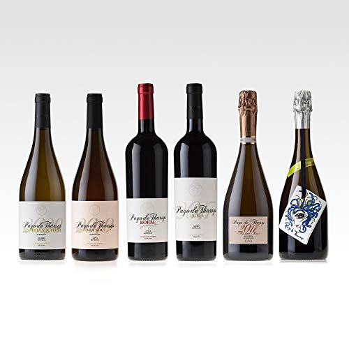 Pago de Tharsys Winelover Organic - Caja mixta de Vinos y Cavas Ecológicos - 6 botellas x 750ml