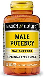 Mason Natural Male Potency - 60 Tablets, Pack of 4
