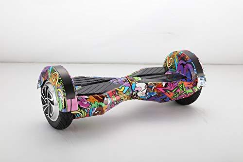 United Trade Hoverboard, elektrische scooter, overboard, balance-scooter, skateboard met LED & Bluetooth, twee 8 inch Mural wielen met UL-goedkeuring 2272, geschenkdoos
