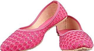 Family Fashion MART Women's Makkhi-Belly-Pink (S.NO-48)
