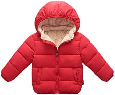 Toddler Boys Fleece Lined Puffer Jacket