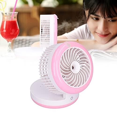 KUIDAMOS Ventilador humidificador, Mini Ventilador Viento Potente AMPLIAMENTE Utilizado para Viajes