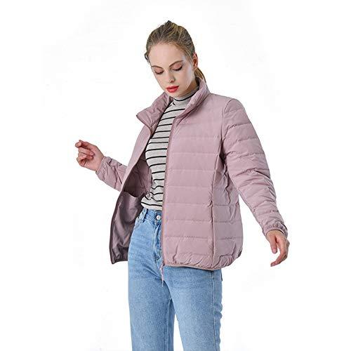 Korte Designer Parker Down Jacket Women's-gewatteerde gewatteerde jas Zip Zakken Meisjes Herfst Winter Slanke Kraag Lichtgewicht Waterdicht S-3XLZeer Mooi Gift