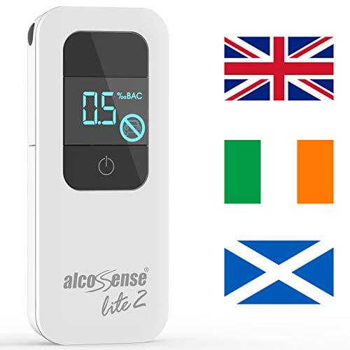 AlcoSense Lite 2 Breathalyzer & Alkoholtestare för Storbritannien, Irland och Skottland