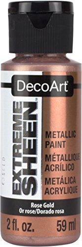 DecoArt DPM03-30 Rose Gold Extreme Sheen Paint, 2 oz