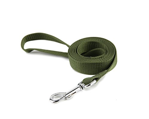 Taida Strong Durable Nylon Dog Training Leash, Traction Rope, 6 Feet Long, 1 Inch Wide, for Small...