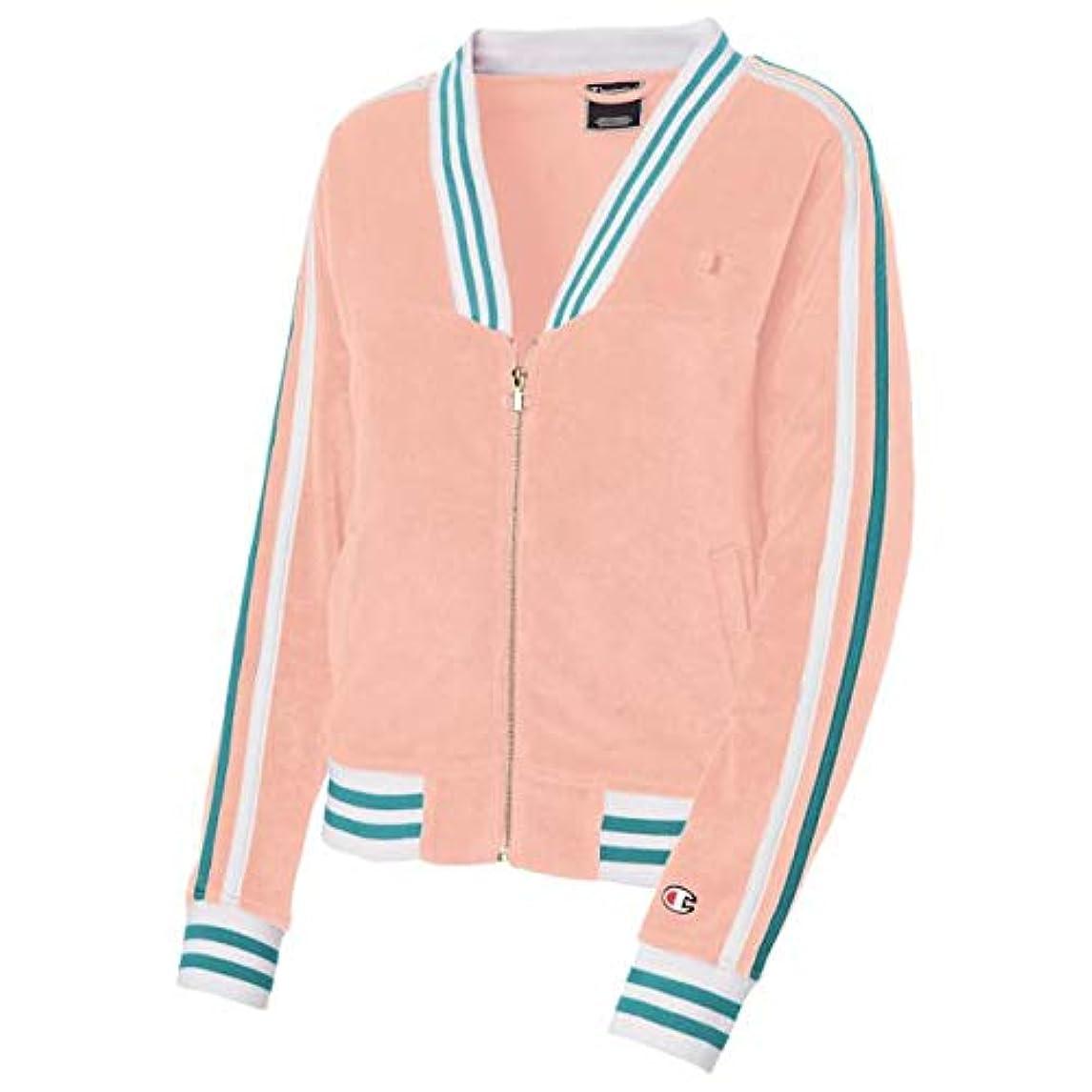 帰する起訴する倒錯(チャンピオン)Champion Terry Cloth Modern Warm-Up Jacket レディース ジャケット?トレーナー [並行輸入品]