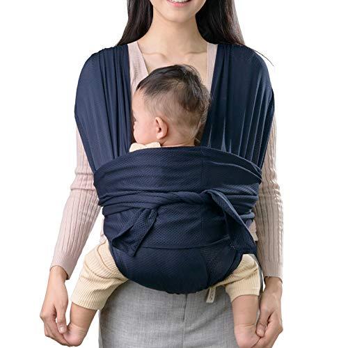 Ergonomische Babytrage, 3 in 1 Babytragetuch für Bauchtrage, Rückentrage, Baby Tragetuch für Neugeborene, Kleinkinder, weich und atmungsaktiv