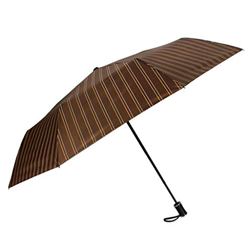 Tingting1992 Día Soleado y lluvioso Doble Uso Paraguas Plegable Diosa Literario Pequeño Protector Solar Fresco Protección UV Paraguas de Sol (Color : Brass)